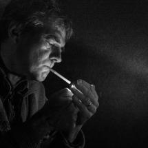 4 - Jean-Marc DROULEZ - Homme à la cigarette